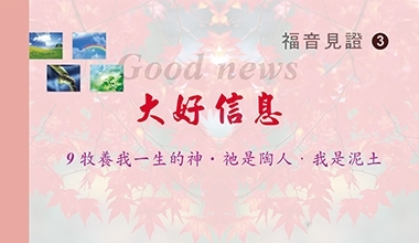 DVD030-3-1 福音見證DVD(三) 大好信息第九集